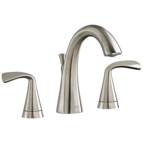 American Standard Satin Nickel Brass Widespread Bathroom Faucet