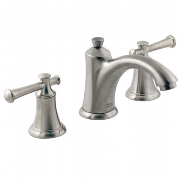 Shop American Standard Portsmouth Satin Nickel Widespread Bathroom Faucet Free Shipping Today