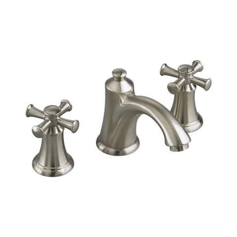 American Standard Portsmouth 7415.821.295 Satin Nickel Brass Widespread Bathroom Faucet