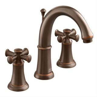 American Standard Portsmouth 7420.821.224 Oil-rubbed Bronze Widespread Bathroom Faucet|https://ak1.ostkcdn.com/images/products/12027094/P18900886.jpg?impolicy=medium
