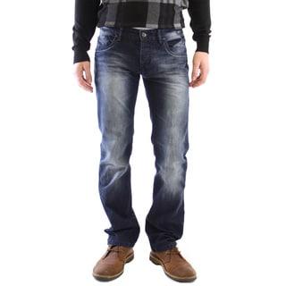 Dinamit Men's JT Dark-wash Straight-leg Jeans