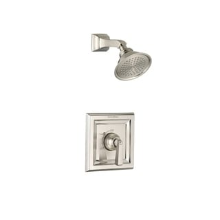 American Standard Town T555.501.295 Satin/Nickel Square Shower Faucet