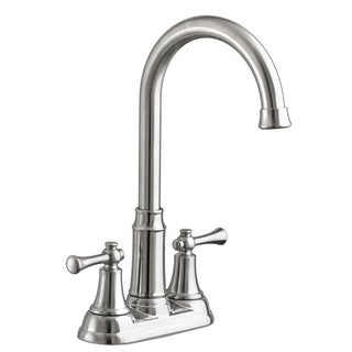 American Standard Portsmouth Silver Stainless Steel 2-handle Bar Faucet