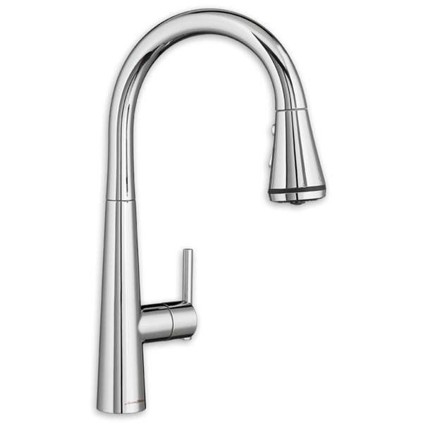 American Standard Edgewater Pull Down Kitchen Faucet Overstock 12027148