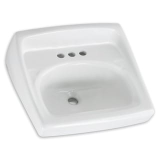 American Standard Lucerne 0356.421.020 White Porcelain 18.25-inch x 20.5-inch Wall-mount Bathroom Sink