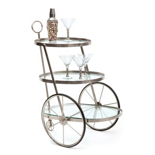 Hip Vintage Miami Bar-Tea Cart