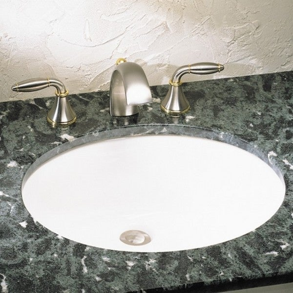 Perfect American Standard Ovalyn White Porcelain Undermount Bathroom Sink  0497.221.020   Free Shipping Today   Overstock.com   18901002