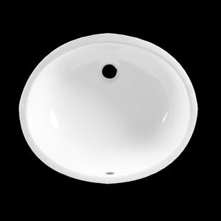 American Standard Ovalyn White Porcelain Undermount Bathroom Sink 0497.221.020