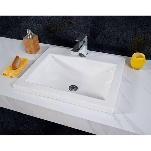 American Standard Vitreous China Drop In Bathroom Sink