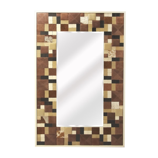 Butler Gagne Hair-on-hide Wall Mirror