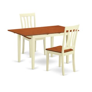 3-piece Dinette Set For 2-dining Table and 2 Dining Room Chairs