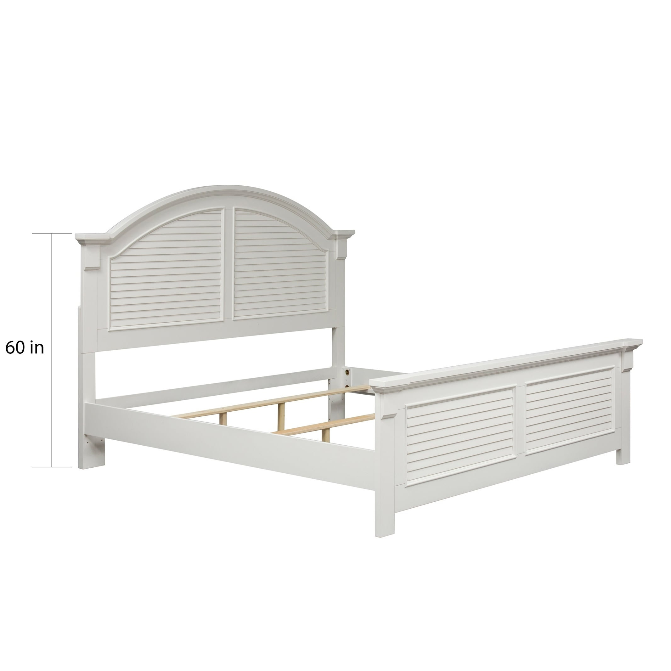 Summer House Oyster White Cottage Panel Bed On Sale Overstock 12027333 Queen