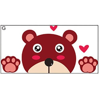Bear Switch 2 inch x 4 inch Removable Wall Graphic