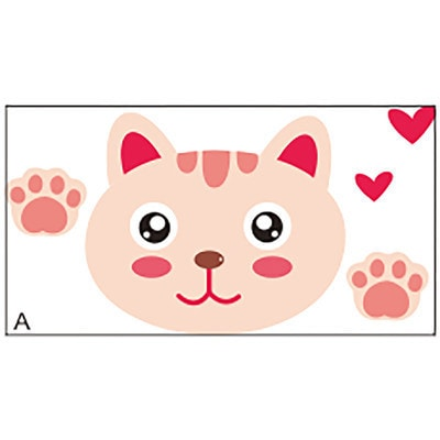 HomeSource 'Cat Switch' 2-inch x 4-inch Removable Wall Graphic