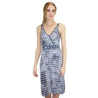Relished Women's Storm Grey Midi Jersey Dress
