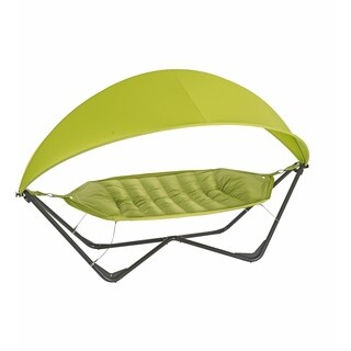 TrueShade Plus Apple Green 11-foot x 5-foot Gondola Hammock With Cover
