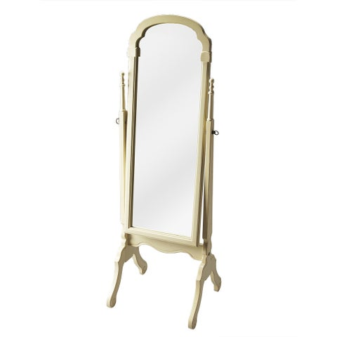 Butler Meredith Cottage White Cheval Mirror - Cottage White - N/A