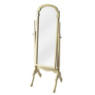 Butler Meredith Cottage White Cheval Mirror|https://ak1.ostkcdn.com/images/products/12027408/P18901142.jpg?impolicy=medium