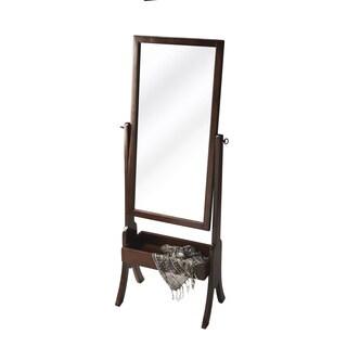 Butler Vista Espresso Cheval Mirror
