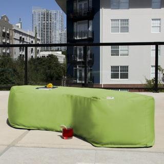 Jaxx Lenox Outdoor Patio Bean Bag Bench