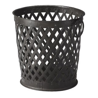 Butler Black Iron Storage Basket