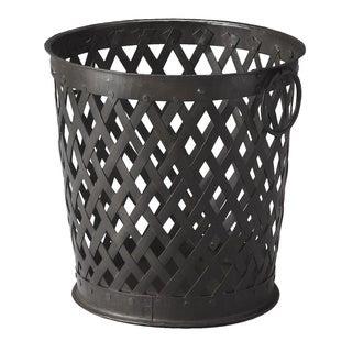 Butler Black Iron Storage Basket
