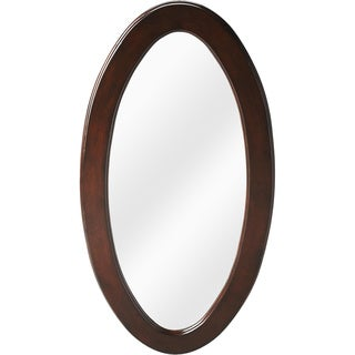 Butler Mozart Plantation Cherry Oval Mirror