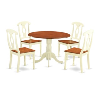 5-piece Dining Set with Dining Table and 4 Dining Chairs