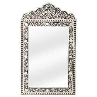 Butler Victoria Black Bone Inlay Wall Mirror
