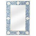 Butler Olivia Blue Bone Inlay Wall Mirror