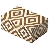 Butler Maya Wood and Bone Inlay Storage Box