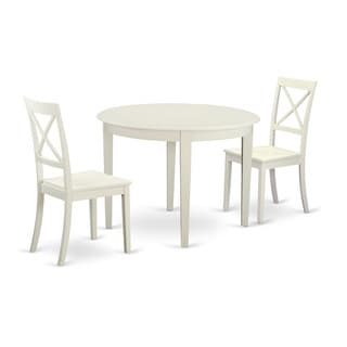 3-piece Dining Table Set For 2-small Kitchen Table and 2 Kitchen Chairs