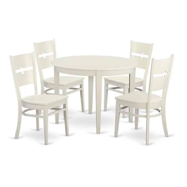 5 piece dinette set for 4 small kitchen table and 4 dining for Small kitchen table sets for 4