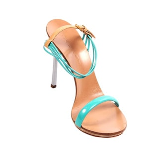 Casadei Women's Multicolored Leather Heeled Sandals