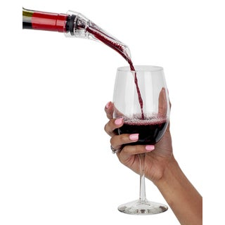VinoNinja Wine Aerator, Pourer Spout, and Decanter
