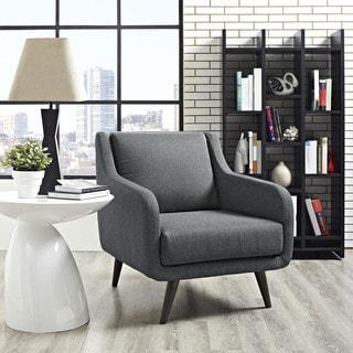 Verve Mid Century Fabric Armchair
