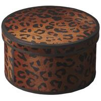 "Butler Nikita Leather Storage Box - 7""H"
