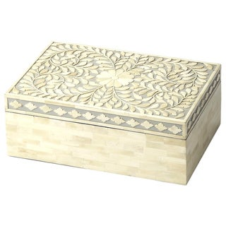 Butler Gray Bone Inlay Storage Box