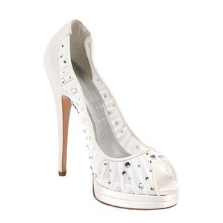 Casadei Women's Peep Toe Heels