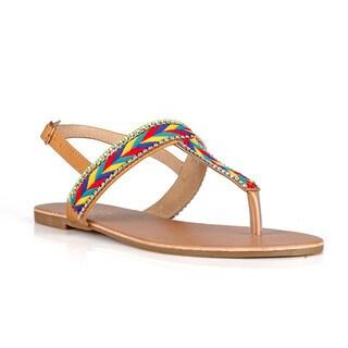 Hotsoles Women's Pig Flat Sandals