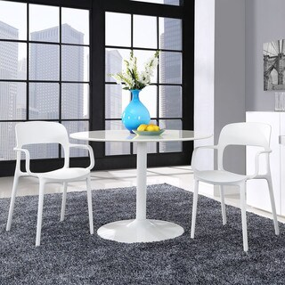 Hop Plastic Dining Chairs (Set of 2)