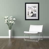 Philippe Hugonnard 'Another Look at Paris IV' Matted Framed Art