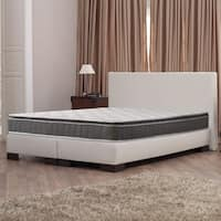 Acura Easy to Go Meduim Firm Pillowtop Twin-size Innerspring Mattress Set