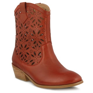 L'Artiste Elgin by Spring Step Women's Natural Leather Boots