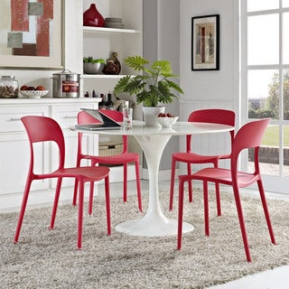 Hop Plastic Four-piece Dining Set