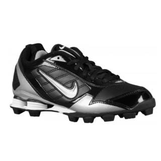Nike Fuse Children's Black, White Synthetic Track and Field Athletic Shoes