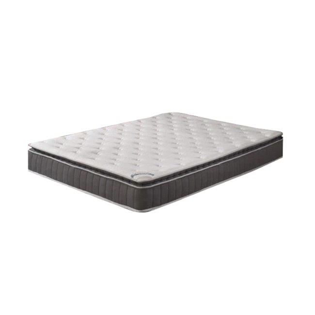 Acura Pillow Top Queen Size Innerspring Mattress And 4 Inch Split Box Spring
