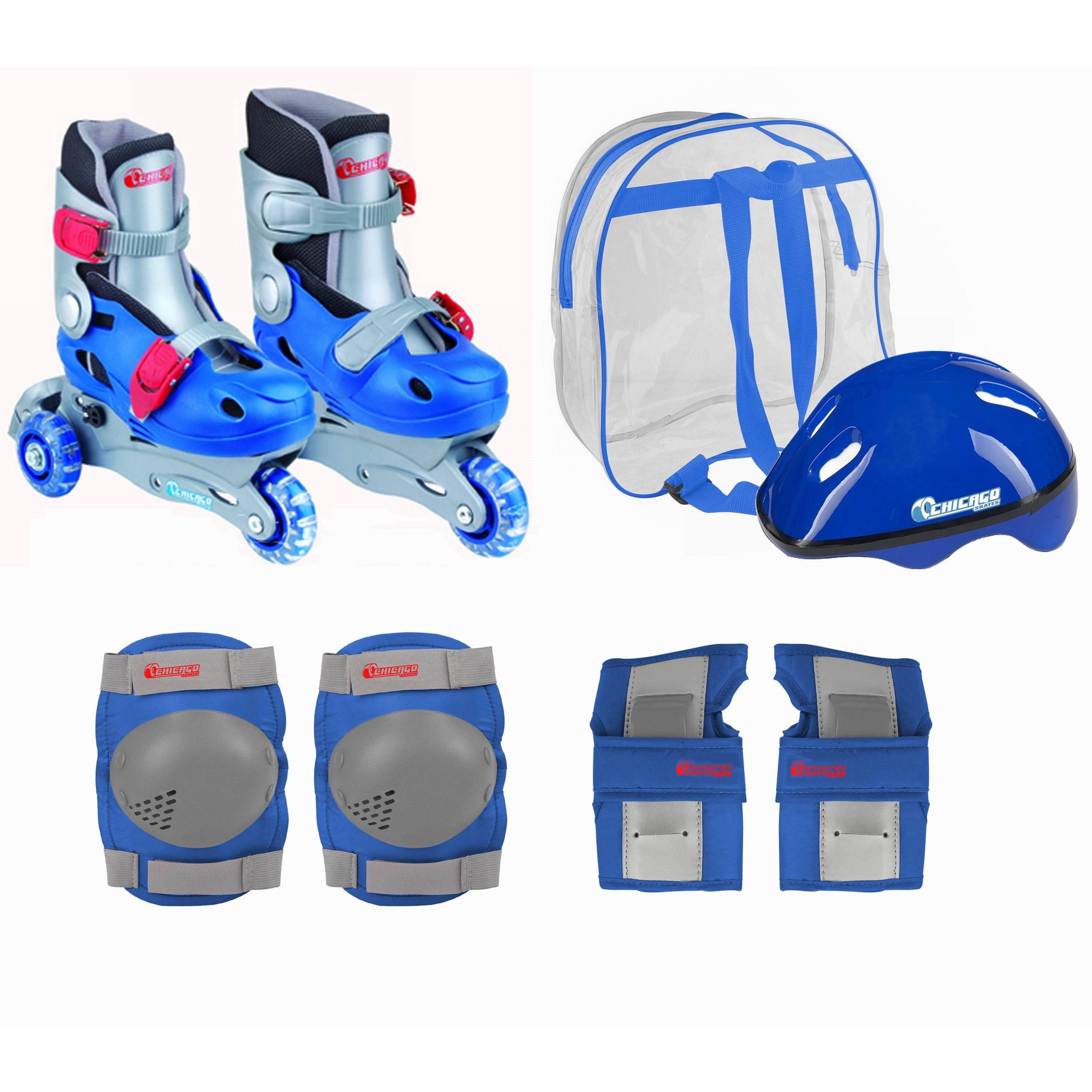 Chicago Skates Boys Training Skate Combo (Blue)