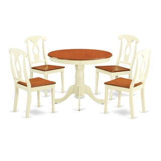 5-piece Kitchen Dinette Set For 4-kitchen Table and 4 Kitchen Dining Chairs