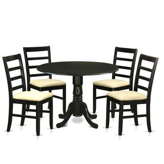 5-piece Kitchen Table Set with Small Kitchen Table and 4 Kitchen Dining Chairs
